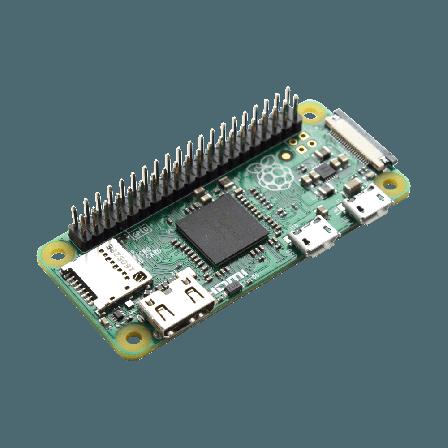 Raspberry PI Zero 1.3 + 40p Header Gesoldeerd