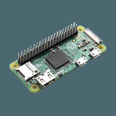 Raspberry Pi Zero W + 40p Header