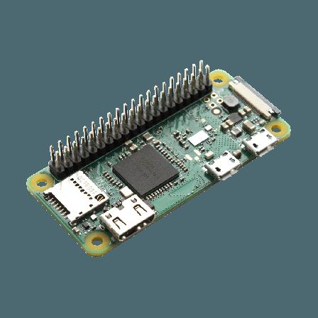 Raspberry Pi Zero W + 40p Header Gesoldeerd