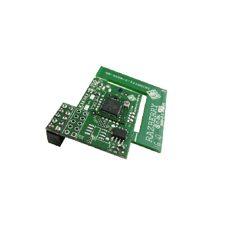 RaZberry2 EU (ZMEE RAZ 2) Z-WavePlus opsteek print voor Raspberry PI