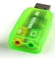 USB naar 3,5mm Jack Speaker en Microfoon NEON