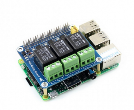 Relais Bordje voor Raspberry Pi