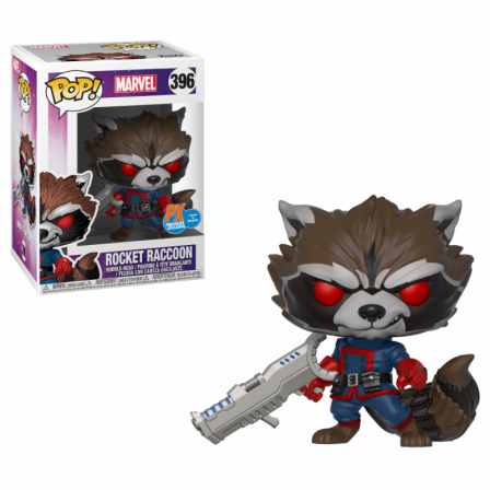 Funko Pop! GOTG: Rocket Raccoon Special Edition Exc #396