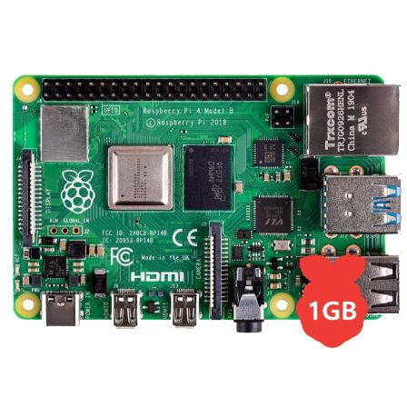 Raspberry Pi 4 Model B / 1GB