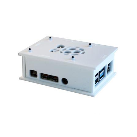 Behuizing voor de Raspberry PI 4B - Wit