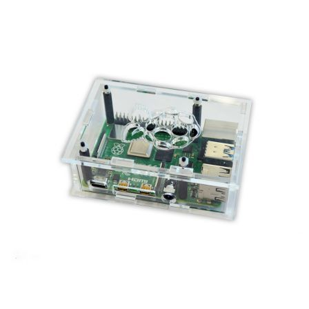 Behuizing voor de Raspberry PI 4B - Transparant