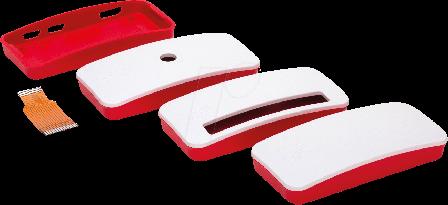 Official Raspberry Pi Zero Red & White Case