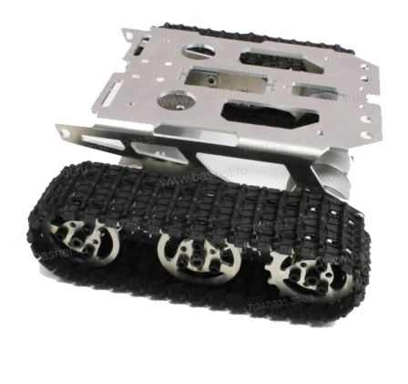 Rupsvoertuig met aluminium frame + 2 rupsbanden Maat 2