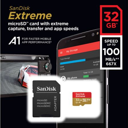 Sandisk Extreme 32GB SDHC 100MB/s