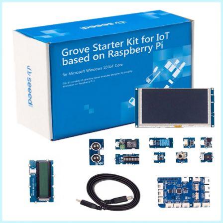 Seeed Grove Starter Kit for IoT based on Raspberry Pi