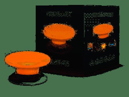 Fibaro The Button Kleur Oranje