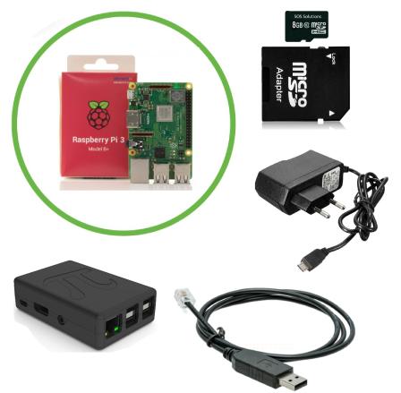 Slimme Meter Domoticz Starter Kit met Raspberry Pi 3B+