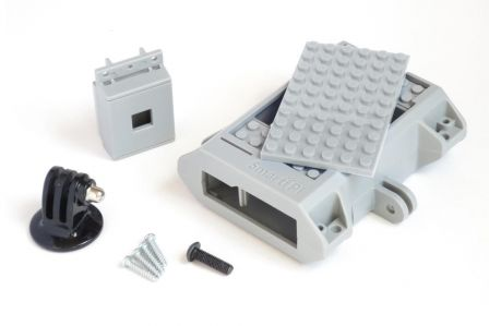 SmartiPi LEGO Behuizing + Camera behuizing + GoPro Mount Grijs