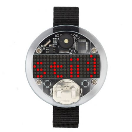 SpikenzieLabs Solder:Time II Watch Kit - Solderen vereist