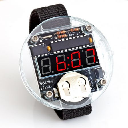 SpikenzieLabs Solder:Time Watch Kit - Solderen vereist