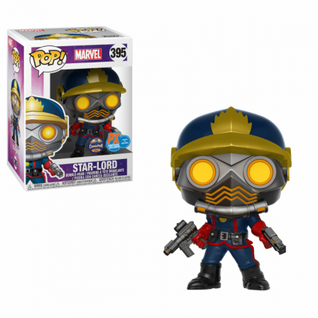 Funko Pop! GOTG: Star Lord Classic Special Edition Exc #395