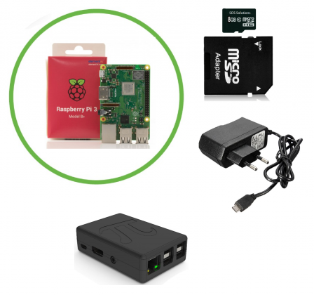 Raspberry Pi 3 B+ Starter Kit (2018)