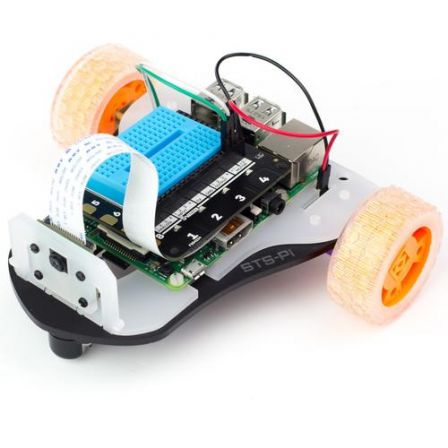 Pimoroni STS-Pi - Build a Roving Robot!