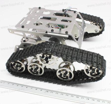 Rupsvoertuig met aluminium frame + 2 rupsbanden Maat 1