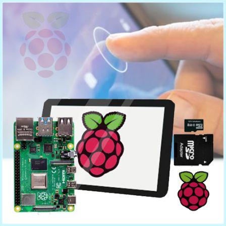 Touchscreen Starter Kit met Raspberry Pi 3B+ (2018)