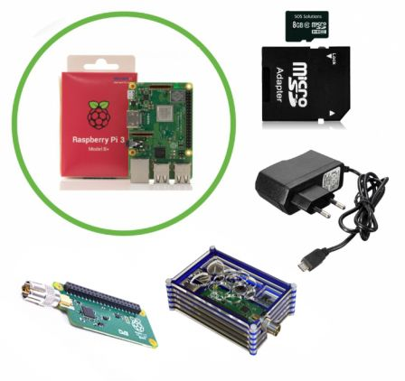 Raspberry Pi 3B+ TV HAT Kit