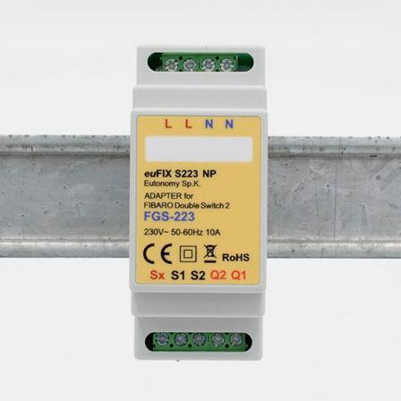 Eutonomy DIN Adapter FGS-223 zonder knoppen