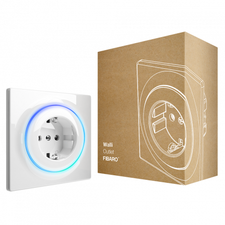 Fibaro Walli Outlet type F (10 Pack)