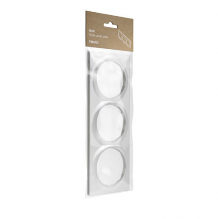 Fibaro Walli Triple Cover Plate