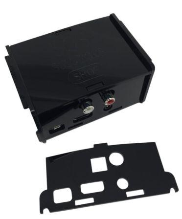 Behuizing voor alle Hifiberry + boards zoals Digi+ en RCA+ Zwart